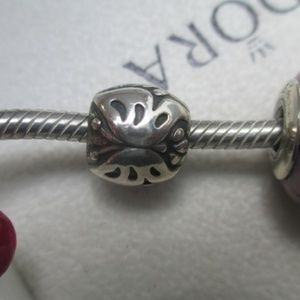 Pandora Sterling Silver Majestic Butterfly Charm